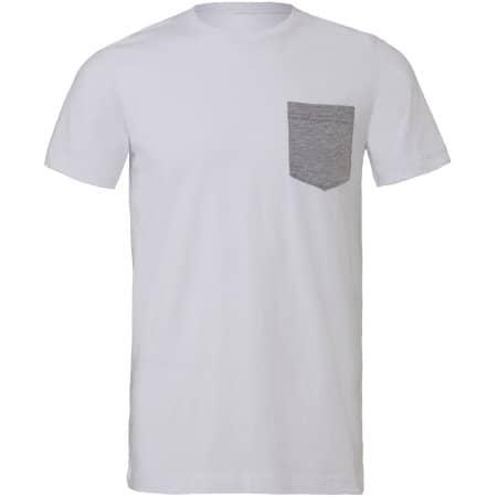 Men`s Jersey Short Sleeve Pocket Tee von Canvas (Artnum: CV3021