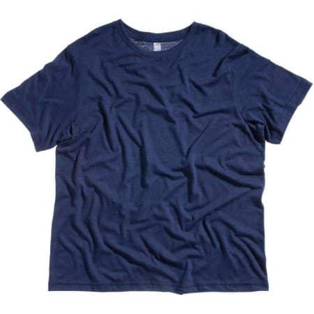 Unisex Triblend Crew Neck T-Shirt von Canvas (Artnum: CV3413