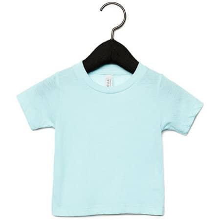 Baby Triblend Short Sleeve Tee in Ice Blue Triblend (Heather) von Canvas (Artnum: CV3413B
