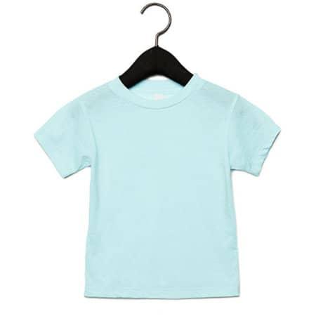 Toddler Triblend Short Sleeve Tee in Ice Blue Triblend (Heather) von Canvas (Artnum: CV3413T