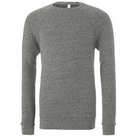 Triblend Sponge Fleece Sweatshirt in Grey Triblend (Heather) von Canvas (Artnum: CV3901