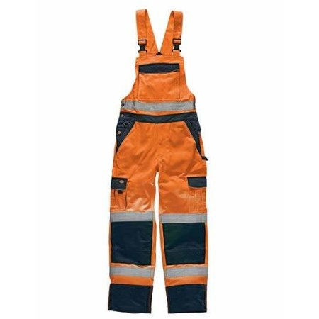 Industry Warnschutz Latzhose EN20471 von Dickies (Artnum: DK30045