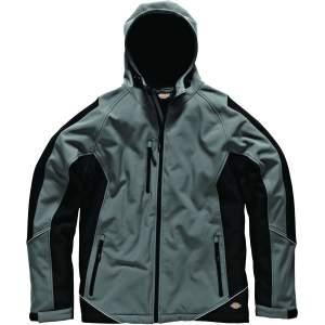 Zweifarbige Softshell-Jacke