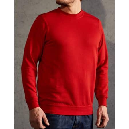 New Men`s Sweater 80/20 in Fire Red von Promodoro (Artnum: E2199N