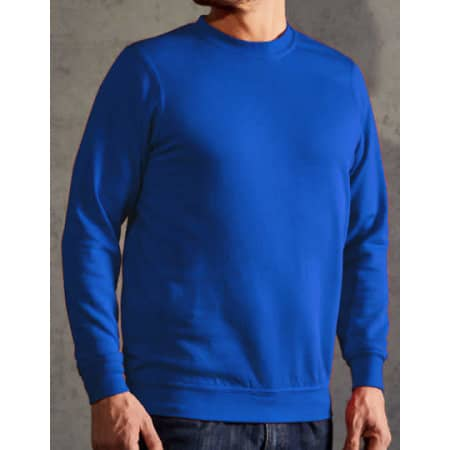 New Men`s Sweater 80/20 in Royal von Promodoro (Artnum: E2199N