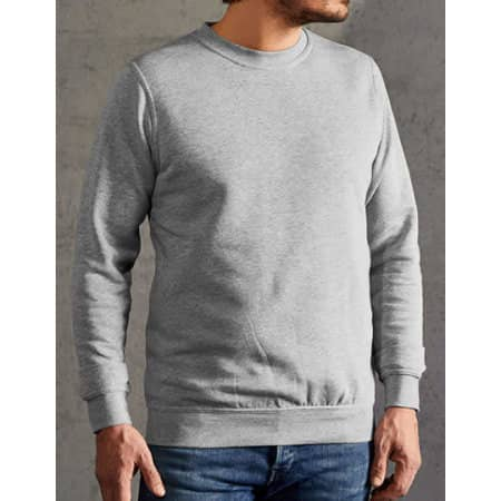New Men`s Sweater 80/20 in Sports Grey (Heather) von Promodoro (Artnum: E2199N