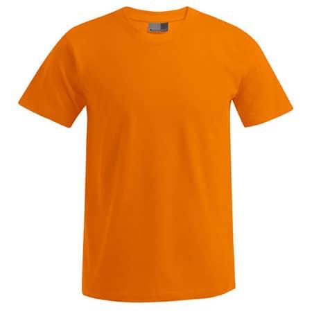 Men`s Premium-T in Orange von Promodoro (Artnum: E3000