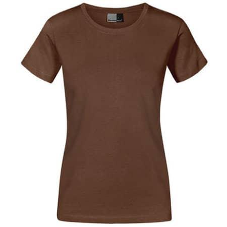 Women`s Premium-T in Brown von Promodoro (Artnum: E3005