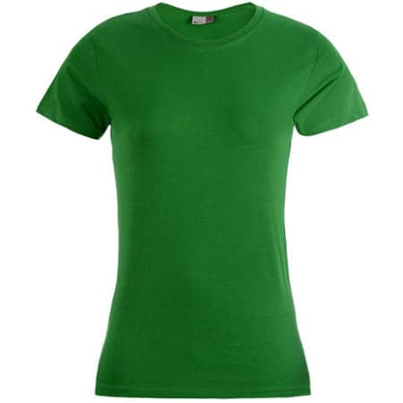 Women`s Premium-T in Kelly Green von Promodoro (Artnum: E3005