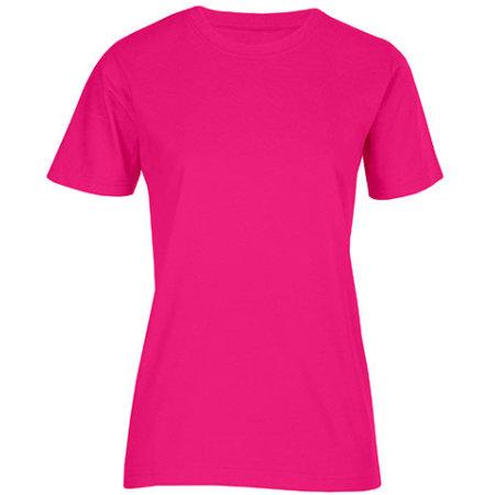 Women`s Fashion Organic-T in Bright Rose von Promodoro (Artnum: E3012
