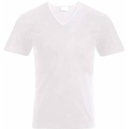 Men`s Slim Fit V-Neck-T von Promodoro (Artnum: E3082