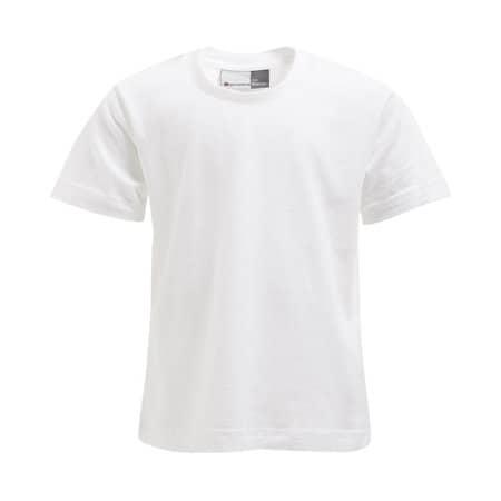 Kids` Premium-T in White von Promodoro (Artnum: E399