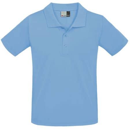 Men`s Superior Polo in Alaskan Blue von Promodoro (Artnum: E4001