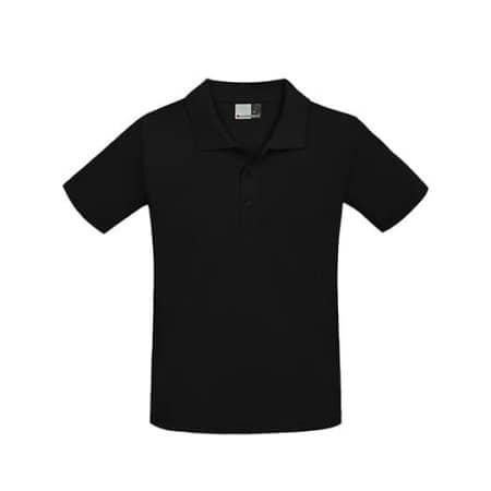Men`s Superior Polo in Black von Promodoro (Artnum: E4001