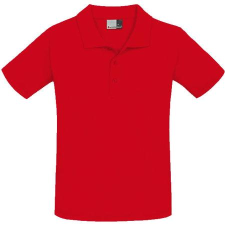 Men`s Superior Polo in Fire Red von Promodoro (Artnum: E4001