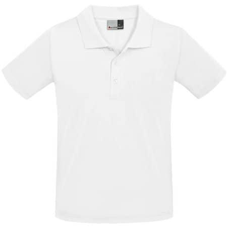 Men`s Superior Polo in White von Promodoro (Artnum: E4001