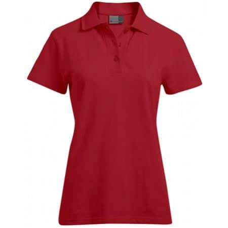 Women`s Superior Polo in Fire Red von Promodoro (Artnum: E4005F