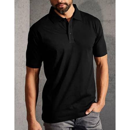 Men`s Jersey Polo in Black von Promodoro (Artnum: E4020