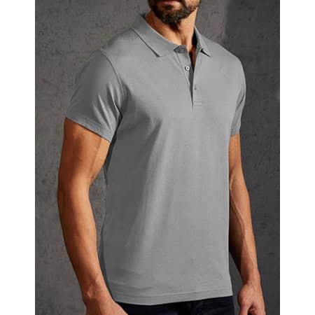 Men`s Jersey Polo in New Light Grey (Solid) von Promodoro (Artnum: E4020