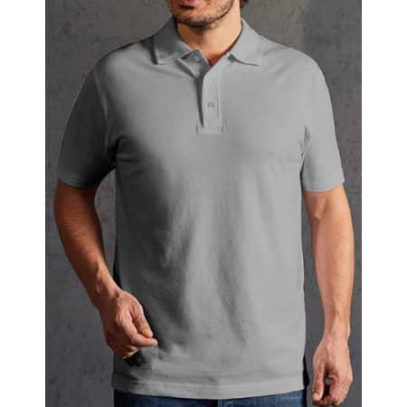 Men`s Premium Polo in New Light Grey (Solid) von Promodoro (Artnum: E4040