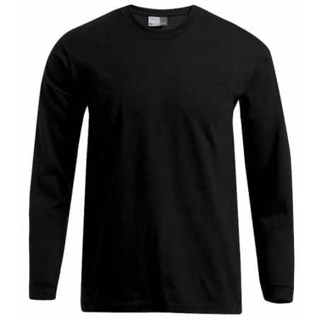 Men`s Premium-T Longsleeve in Black von Promodoro (Artnum: E4099