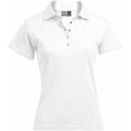 Women`s Interlock Polo in White von Promodoro (Artnum: E4250