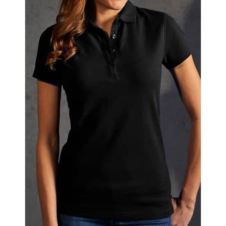 Women`s Polo 60/40 in Black von Promodoro (Artnum: E4405