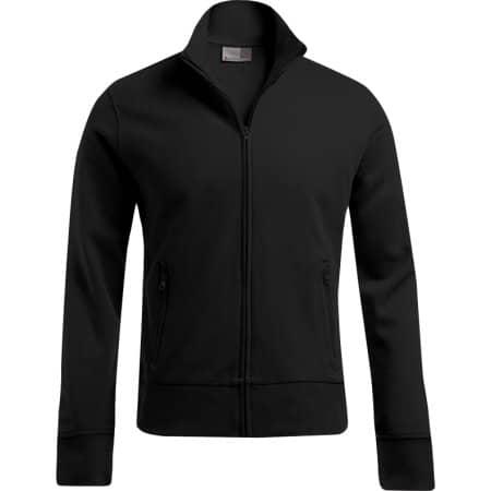 Men`s Jacket Stand-Up Collar in Black von Promodoro (Artnum: E5290
