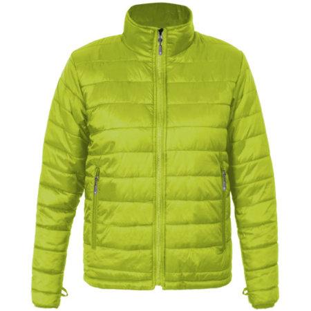 Men`s Padded Jacket C+ in Lime von Promodoro (Artnum: E7621