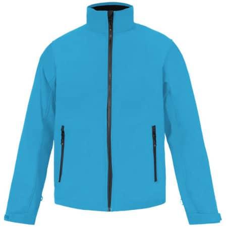 Men`s Softshell Jacket C+ in Aqua von Promodoro (Artnum: E7820