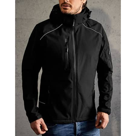 Men`s Softshell Jacket in Black von Promodoro (Artnum: E7850