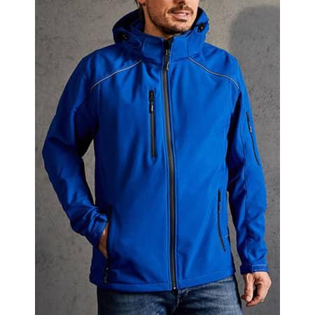 Men`s Softshell Jacket in Royal von Promodoro (Artnum: E7850