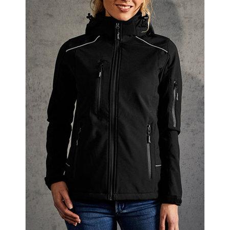 Women`s Softshell Jacket in Black von Promodoro (Artnum: E7855