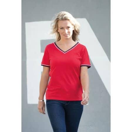 Elbert Piqué Ladies T-Shirt von Elevate (Artnum: EL38027