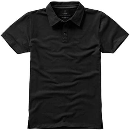 Markham Polo in Anthracite (Solid)|Black von Elevate (Artnum: EL38084