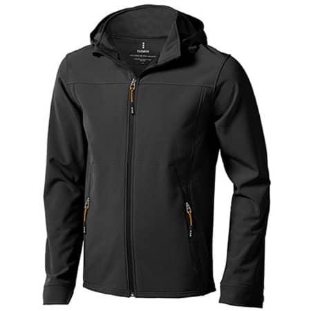 Langley Softshell Jacket in Anthracite (Solid) von Elevate (Artnum: EL39311