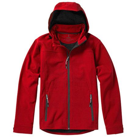 Langley Softshell Jacket in Red von Elevate (Artnum: EL39311