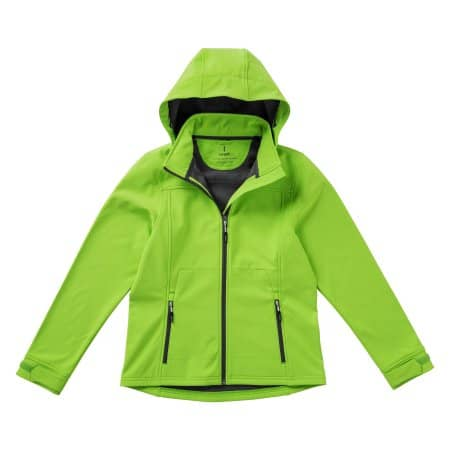 Langley Ladies` Softshell Jacket in Apple Green von Elevate (Artnum: EL39312