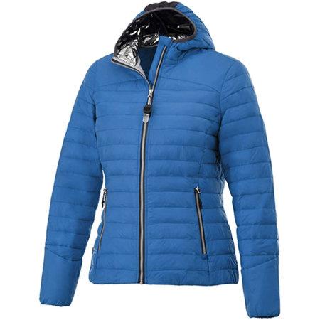Silverton Insulated Ladies Jacket in Blue von Elevate (Artnum: EL39334