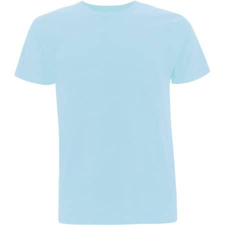 Unisex Organic T-Shirt in Aquamarin von EarthPositive (Artnum: EP01