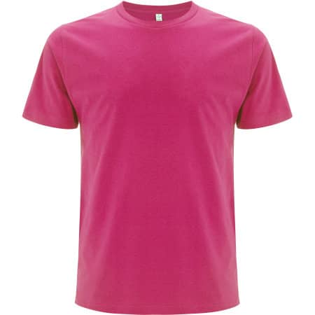 Unisex Organic T-Shirt in Bright Pink von EarthPositive (Artnum: EP01