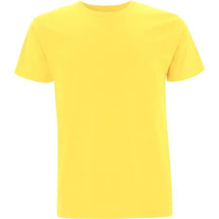 Unisex Organic T-Shirt in Buttercup Yellow von EarthPositive (Artnum: EP01