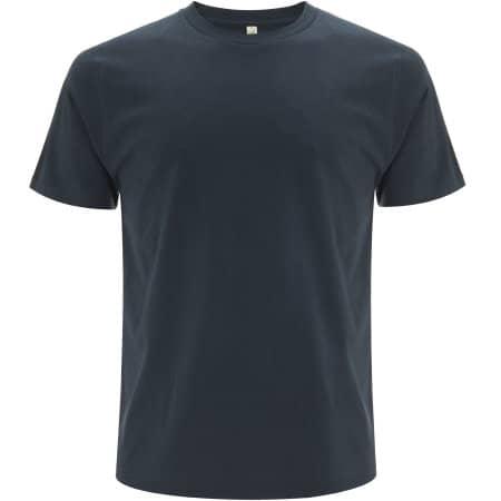Unisex Organic T-Shirt in Denim von EarthPositive (Artnum: EP01