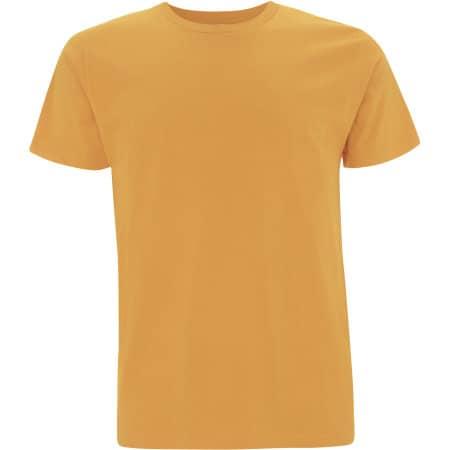 Unisex Organic T-Shirt in Mango von EarthPositive (Artnum: EP01