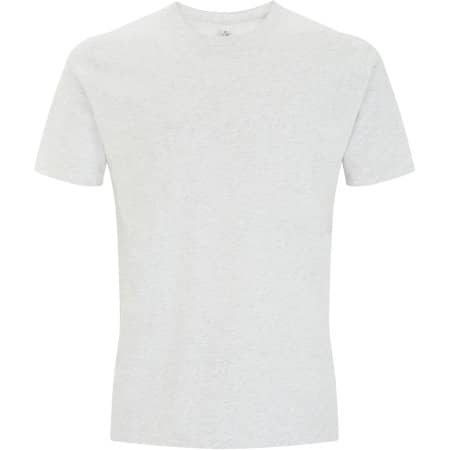Unisex Organic T-Shirt in Melange White von EarthPositive (Artnum: EP01