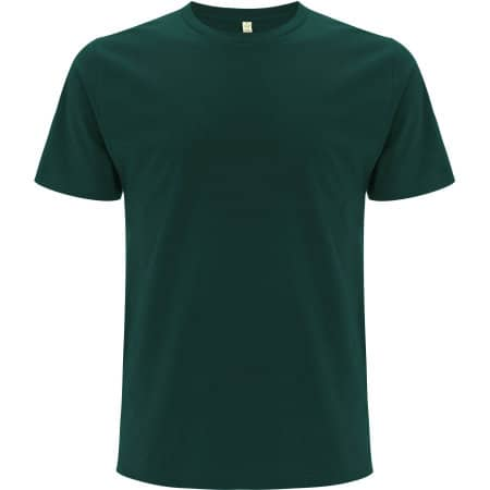 Unisex Organic T-Shirt in Bottle Green von EarthPositive (Artnum: EP01