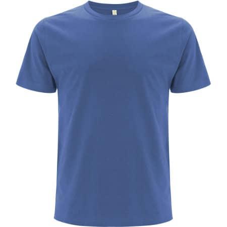 Unisex Organic T-Shirt in Faded Denim von EarthPositive (Artnum: EP01