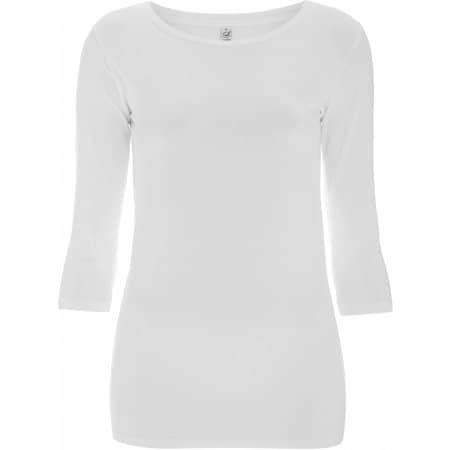 Women`s 3/4 Sleeve Strech Stretch T-Shirt von EarthPositive (Artnum: EP07