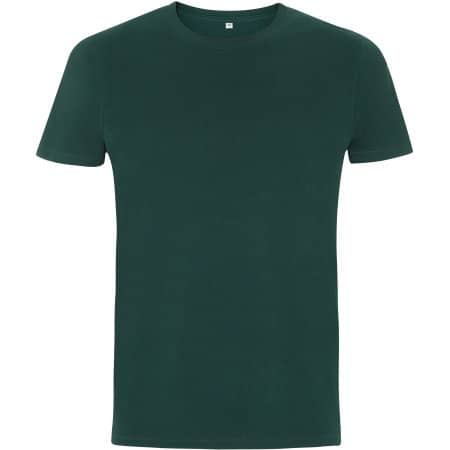 Mens/Unisex Organic T-Shirt in Bottle Green von EarthPositive (Artnum: EP100