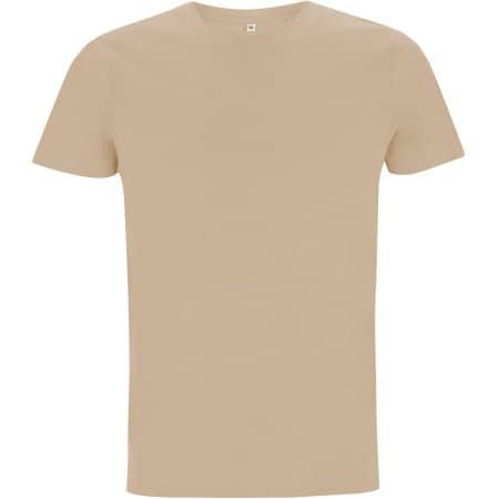 Mens/Unisex Organic T-Shirt in Camel von EarthPositive (Artnum: EP100
